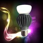 Simple design 360 degree led bulb led light bulb speaker