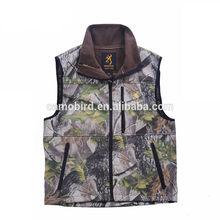 Bionic Camouflage Hunting Fishing Vest Outdoor Windproof and Rainproof Vest
