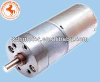 high torque low speed dc 25mm geared motor,2 rpm gear motor dc 12v 24v