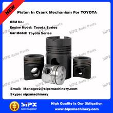 OEM standard auto piston In Crank Mechanism For TOYOTA