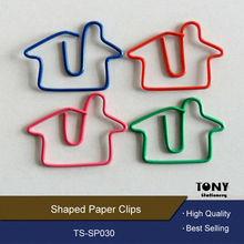 colours creative cute house designer paper clips