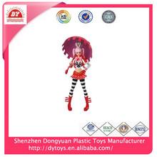 ICTI Certificate Made In China plastic cute girl figure
