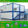 Family living folding container house,2 floor folding container house, folding container house design