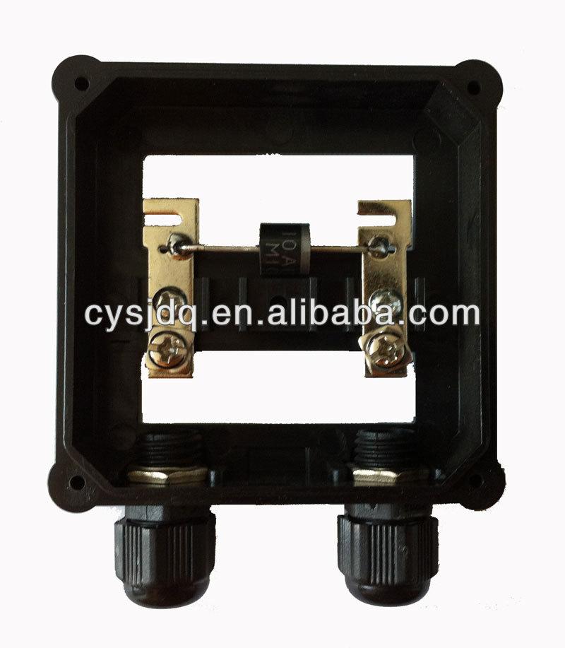 50-75W Solar PV junction box