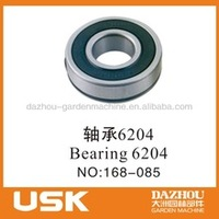 Bearing 6204 for gasoline generator spare part
