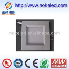 3 year warranty square 6w 10w 12w 18w led panel light hs code