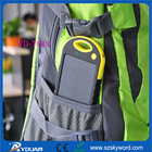 waterproof solar charger bag,Anti-Skip Power bank with Silicon material,SOS Emergency LED lights