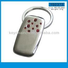 Guangzhou factory supply diamond ring key chain