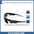 Amplo ângulo impermeável hd 720p câmera polaroid re-sg720pf óculos de sol