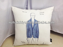 2015 Suede Pillow for gift use