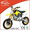 best selling 125cc dirt bike kick start