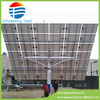 5KW/10KW dual axis solar tracker with motor light and time tracker