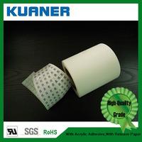 Polypropylene blank self adhesive label material