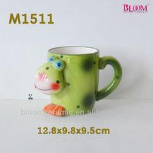 Factory direct sale ceramic animal gift mug
