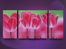 modern wall decor art painting abstract flower pictures