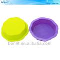 Ksm0092& fda lfgb forma redonda qualidade alimentar bolo moldes de silicone