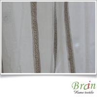 Ready-made sheer curtain fabrics for sale