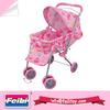 Feili new toys 2014 product metal doll pram with umbrella baby doll stroller set