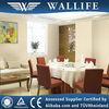 ST40903 / damask design vinyl decorative wallpaper for restaurant
