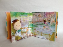 Children hardcover board book publishing
