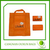 Latest custom foldable non woven shopping gift bag