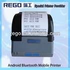 58mm portable dot matrix printer Android bluetooth support printing