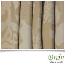 european classic poly cotton jacquard fabric for curtain