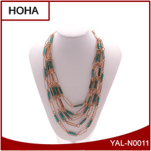 2014 Low MOQ Latest Fashion N ecklace Jewelry