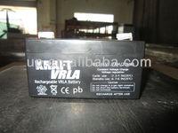 Electric Vehicle battery e bike sla battery agm lead acid battery 6V1.3AH