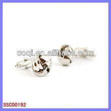 free sample elastic Stainless steel cufflinks cheap stocking