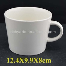 promotional gifts plain ceramic coffee mug for customized logo request
