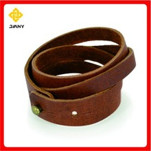 Fashion handmade real leather wristbands&leather bracelet