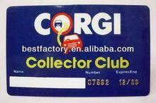 100% qc mega fabrika ucuz! Cep boyutu takvim kartı