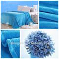 2014 Hot Sale promocional azul lance barato cobertor de flanela