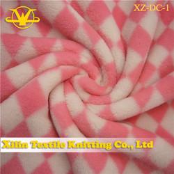 micro fleece print fabric made in China