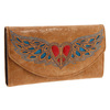 Western Purse Winged Wallet Peace Heart Wallet China Manufacturer Purse New Arrival Wallet Alibaba China purse