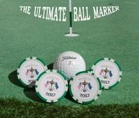 custom printing cheap golf ball markers