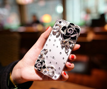DIY Bling Rhinestone Mobile Phone Protective Cover