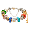 Handmade Murano bracelet, high quality silver plated Handmade murano bracele