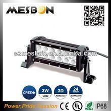 7.5inch 36W high lumen dual row led light bar 4x4 auto accessories