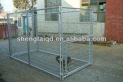 Fashion chain link dog kennel