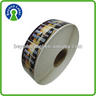 High quality permanent Waterproof self adhesive label paper,cheap printing custom lighter sticker
