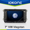 "factory 7"" HD Touch screen 2 din 2005-2010 vw passat dvd player with gps, TMC, camera, mic, dvb-t"