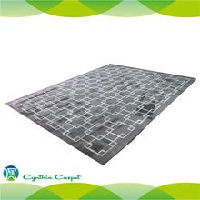 acrylic rayon mix carpet underlay carpet yarn