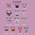 Super Fashion 3D Nail Art Stud For Nail Tips Or Home DIY Decoration 100pcs/bag,FN-24