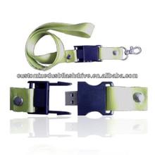 bulk cheap sling USB flash drive / string usb stick / lanyard USB key custom labeling