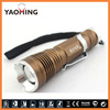 Aluminum pen torch zoom led flashlight cree lights made in china