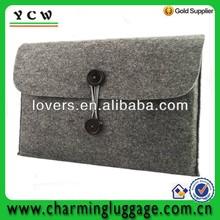 wool felt laptop case/notebook cover bag/felt sleeve case