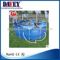 2014 novo design de luxo da família bestway piscina redondeza( com armação de metal)