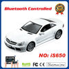 hot sale Android/iPod/iPhone/iPad controlled Benz rc car electric